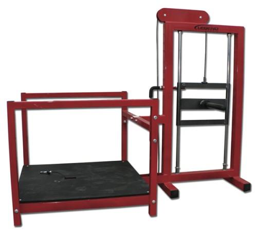 belt squat machine