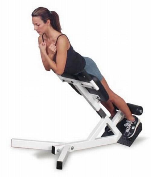 True natural bodybuilding hyperextensions