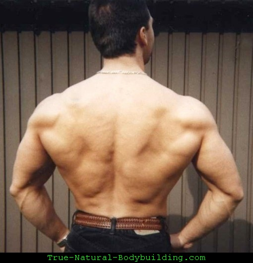 Natural Bodybuilder Back